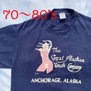 THE REAL McCOY'S - 70's ヌードガール Tシャツ 古着 ビンテージ ヴィンテージ エロ