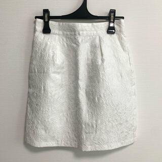 エヌナチュラルビューティーベーシック(N.Natural beauty basic)の美品♡ ナチュラルビューティーベーシック レース スカート(ミニスカート)