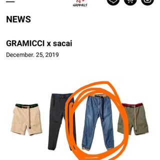 サカイ(sacai)のsacai x GRAMICCI デニム ジーンズ サイズ1(デニム/ジーンズ)