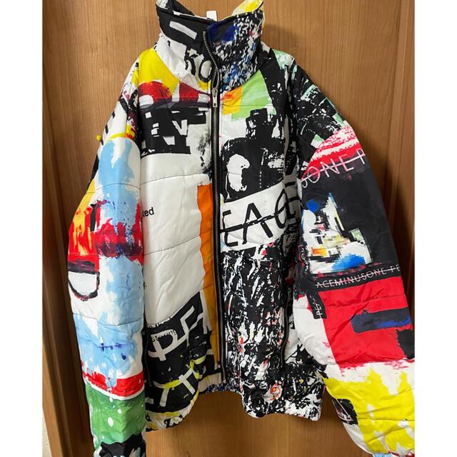 PEACEMINUSONE(ピースマイナスワン)のpeaceminusoneダウンジャケット メンズのジャケット/アウター(ダウンジャケット)の商品写真