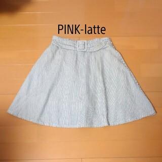 PINK-latte - 630円☆  160、PINK-latteのインナーパンツ付きスカート!