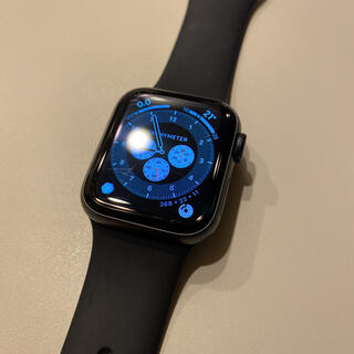 アップル(Apple)のApple Watch 5 GPS 40mm 美品 スペースグレイ(その他)