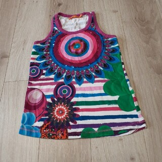 デシグアル(DESIGUAL)のdesigual デシグアル キッズ 子供 スパンコール タンクトップ 9/10(Tシャツ/カットソー)