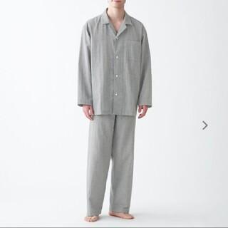 MUJI (無印良品) - 脇に縫い目のない 二重ガーゼパジャマ メンズ