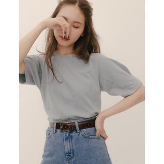 RANDEBOO Minimal puff tee (Blue)&ショッパーM(Tシャツ(半袖/袖なし))