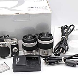PENTAX - PENTAX デジタルミラーレス一眼 Q10 ダブルズームキット ブラック