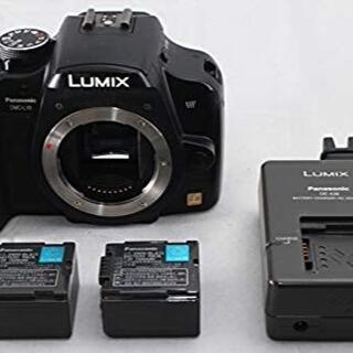 パナソニック(Panasonic)のパナソニック デジタル一眼レフカメラ DMC-L10 ボディ ブラック(デジタル一眼)