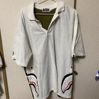 アベイシングエイプ(A BATHING APE)のbape シャーク ポロシャツ(ポロシャツ)