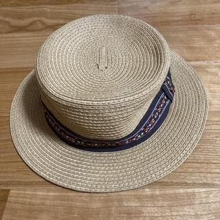 ジーユー(GU)のGU  麦わら帽子 ブラウン(帽子)