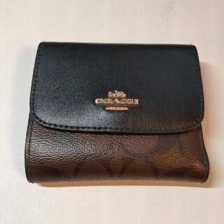 コーチ(COACH)のCOACH コーチ シグネチャー×ブラック 財布 ウォレット(財布)