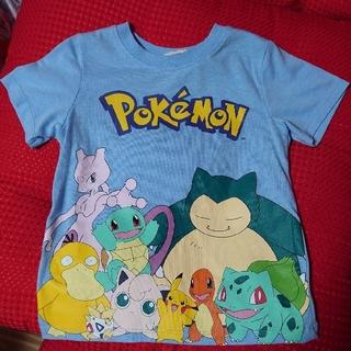 エイチアンドエム(H&M)のH&M ポケモン Tシャツ 110サイズ ピカチュウ カビゴン(Tシャツ/カットソー)