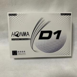 ホンマゴルフ(本間ゴルフ)のHONMA ゴルフボール 1ダース 12個(ゴルフ)
