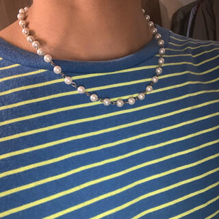 キャピタル(KAPITAL)のパールネックレス pearl necklace(ネックレス)