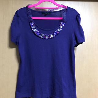 ローラアシュレイ(LAURA ASHLEY)の美品 ローラアシュレイ Tシャツ(Tシャツ(半袖/袖なし))