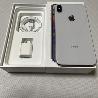 アイフォーン(iPhone)のApple iPhone XS MAX  256GB SIMロック解除済み(スマートフォン本体)