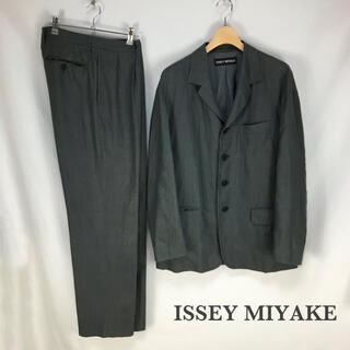 ISSEY MIYAKE - ISSEY MIYAKE スーツ セットアップ メンズ 古着 イッセイミヤケ