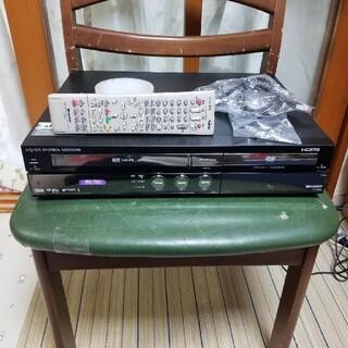 シャープ(SHARP)の希少ダビング可完動超美品シャープVHS/HDD/DVDレコーダーDV-ACV52(DVDレコーダー)