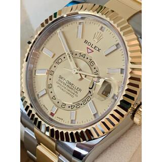 ロレックス(ROLEX)の①国内最安値!スカイドゥエラー326933シャンパンゴールド(腕時計(アナログ))