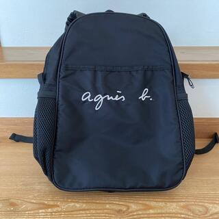 アニエスベー(agnes b.)の最終値下げagnes b.  GL11 E BAG ロゴ刺繍リュックサック(リュックサック)