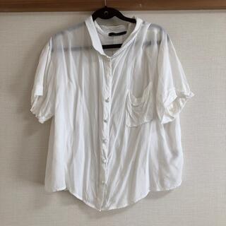 アッシュペーフランス(H.P.FRANCE)のDusk 半袖シャツ(シャツ/ブラウス(半袖/袖なし))