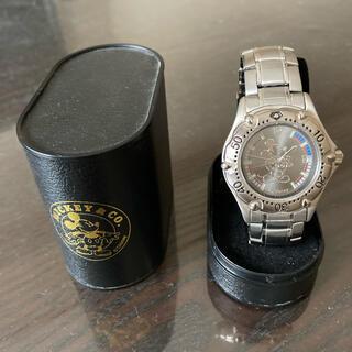 ディズニー(Disney)のミッキーマウス腕時計(腕時計(アナログ))