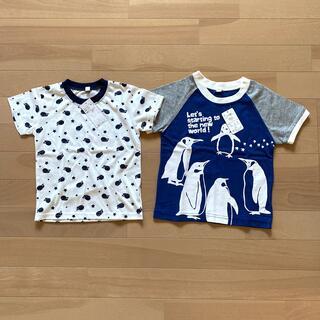 イオン(AEON)の新品未使用 男の子 Tシャツ 95 100 2枚セット(Tシャツ/カットソー)