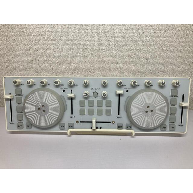 小型pcdjコントローラー icon i-DJ  楽器のDJ機器(DJコントローラー)の商品写真
