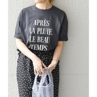 シップスフォーウィメン(SHIPS for women)のSHIPS any  PROVERB ロゴTEE(Tシャツ(半袖/袖なし))
