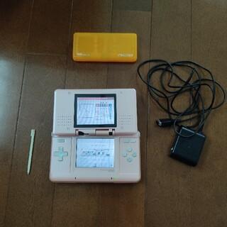 ニンテンドーDS(ニンテンドーDS)の【動作確認済み】ニンテンドーDS ピンク 充電器付き 任天堂 Nintendo(携帯用ゲーム機本体)