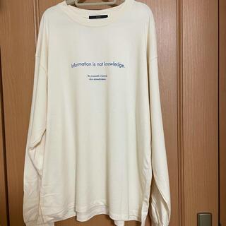 カスタネ(Kastane)のKastane ロングTシャツ(Tシャツ(長袖/七分))
