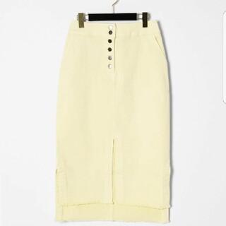 グレースコンチネンタル(GRACE CONTINENTAL)のグレースコンチネンタルデニムタイトスカート(ひざ丈スカート)