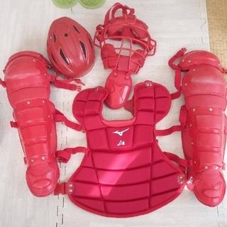 ミズノ(MIZUNO)の大人用 ミズノ ソフトボール キャッチャー防具(防具)