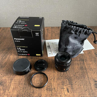 Panasonic - パナソニック LEICA DG  H-X015-K 15mm F1.7