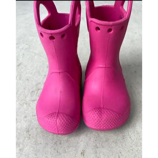 クロックス(crocs)のクロックス レインブーツ 14cm(長靴/レインシューズ)