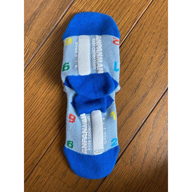 アンパンマン(アンパンマン)のアンパンマン 靴下 11〜13㎝ キッズ/ベビー/マタニティのこども用ファッション小物(靴下/タイツ)の商品写真