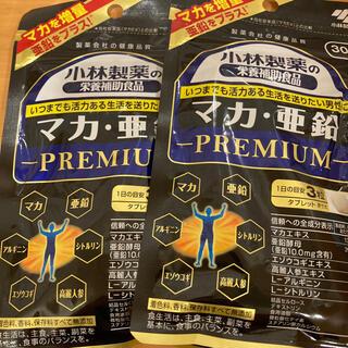 コバヤシセイヤク(小林製薬)の小林製薬 マカ・亜鉛 プレミアム 30日分×2袋(その他)