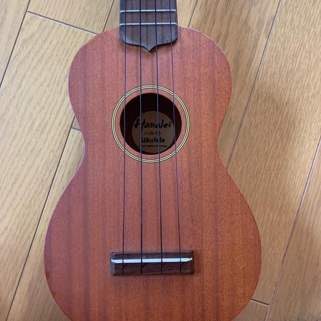 ウクレレ ケース付 handlei huk-10 楽器のウクレレ(その他)の商品写真