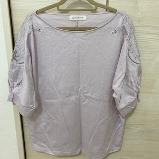 クチュールブローチ(Couture Brooch)の*夏カットソー ラベンダーカラー*(カットソー(半袖/袖なし))