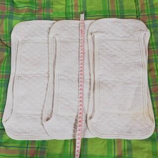 ニシマツヤ(西松屋)の成形布おむつ 3枚(布おむつ)