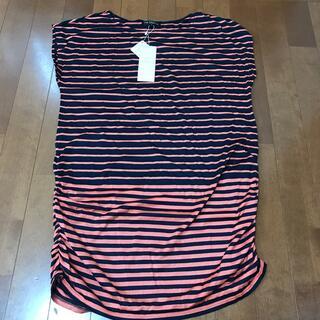 ニジュウサンク(23区)の23区⭐️新品タグ付き。(Tシャツ(半袖/袖なし))