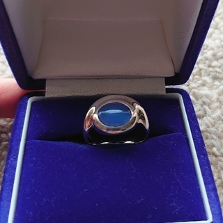 エムズコレクション(M's collection)のM's collection ブルートパーズ silverリング(リング(指輪))
