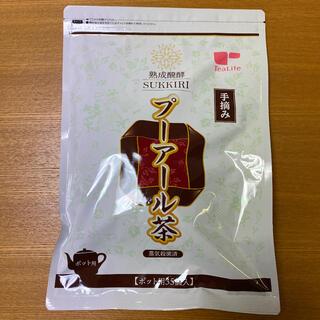 ティーライフ(Tea Life)のスッキリプーアール茶 ティーライフ ポット用35個入 ●新品未開封●(ダイエット食品)