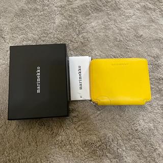 マリメッコ(marimekko)のmarimekko. コンパクト財布 黄色 新品未使用 タグ付き(財布)