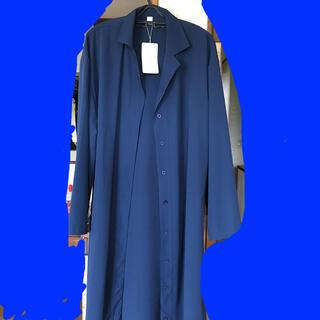 薄手のシャツ コート(ロングコート)