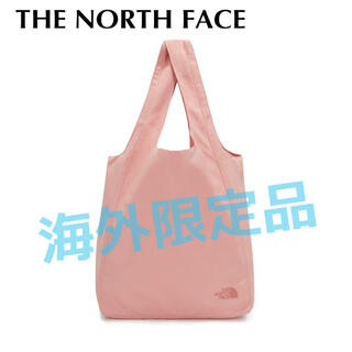 ザノースフェイス(THE NORTH FACE)の11 海外限定 ノースフェイス ショッパーバッグ エコバッグ ピンク(エコバッグ)