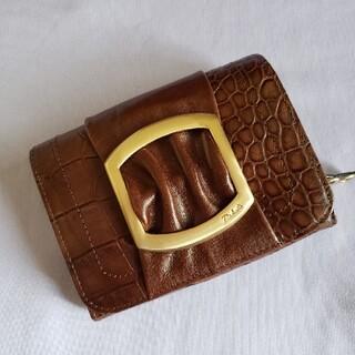 ダコタ(Dakota)のDakota牛革型押2つ折り財布(折り財布)