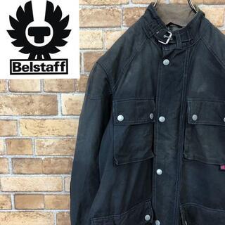 ベルスタッフ(BELSTAFF)の☆ベルスタッフ☆ ゴールドレーベル バイカージャケット メンズ42 チンスト(その他)