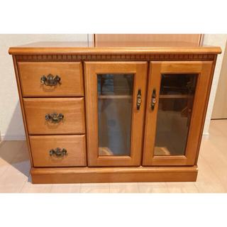 カリモクカグ(カリモク家具)のかなり美品 カリモク家具 サイドボード キャビネット ヴィンテージ アンティーク(リビング収納)