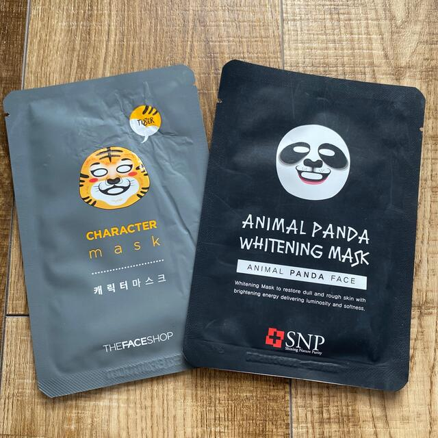 THE FACE SHOP(ザフェイスショップ)のアニマルフェイスマスク コスメ/美容のスキンケア/基礎化粧品(パック/フェイスマスク)の商品写真