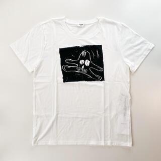 セリーヌ(celine)の【コラボ】セリーヌ CELINE Tシャツ ホワイト アンドレ キャラクター(Tシャツ/カットソー(半袖/袖なし))